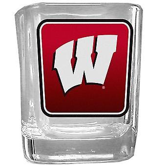 Wisconsin Badgers NCAA Logo Shot Glass