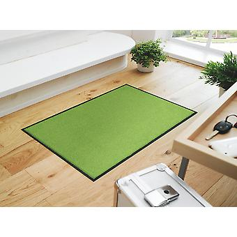 wash + dry trend colour Apple green washable floor mat Apple green