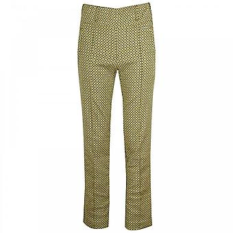 Laurie Classic Legged Bold Patterned Trousers