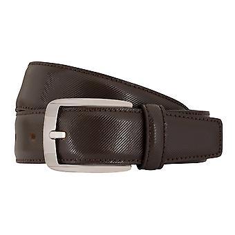 MIGUEL BELLIDO clasico belts men's belts leather belt Brown 7684