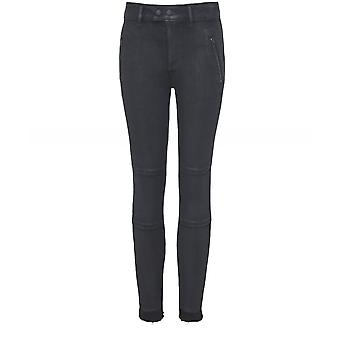 DL1961 Florence Coated Zip Skinny Jeans