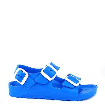 Birkenstock Kids Milano Scuba Blue Eva sandaal