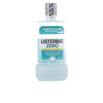 Listerine Null 0 % Alkohol Enjuague Bucal 500 Ml Unisex