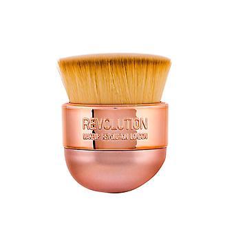 Cepillo Kabuki de Precisión Oval De makeup Revolution