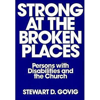 Sterk op de gebroken plaatsen personen met een handicap en de kerk door Govig & Stewart Delisle