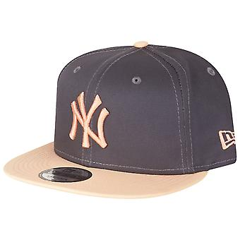 New Era 9Fifty Snapback Cap-NY Yankees graphite/peach