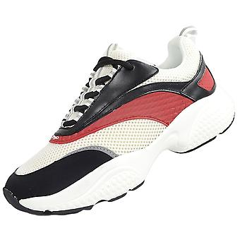 Ed Hardy Scale Runner Black/white/redtrainers