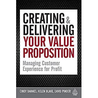 Création &; livrer votre Proposition de valeur: gestion expérience client à but lucratif