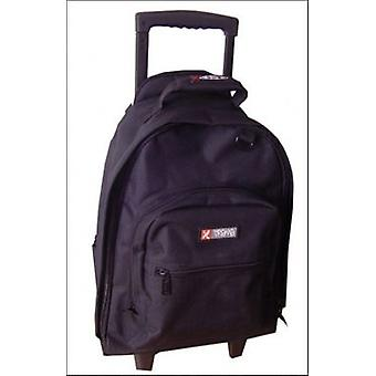 5 Cities 21 inch Cabin Trolley Backpack Luggage Bag Black