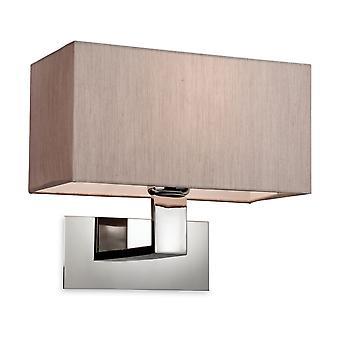 Firstlight-1 luz de pared única de interior pulido S/Steel, Oyter-8370OY