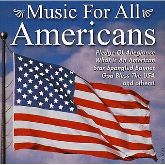 Music for All Americans Patriotic - Music for All Americans Patriotic [CD] USA import