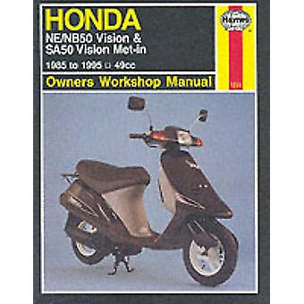 Honda NE/NB50 Vision and SA50 Vision Met-in Owner's Workshop Manual (