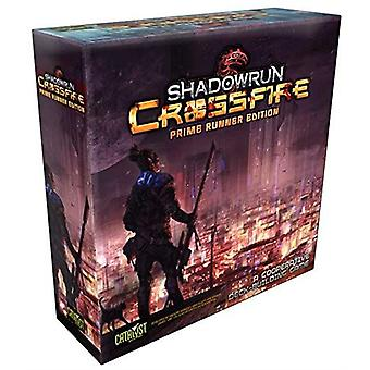 Shadowrun crossfire Prime runner Edition een coöperatieve dek-Building Game