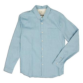 Scotch & Soda Summery Slim Oxford Shirt, Teal