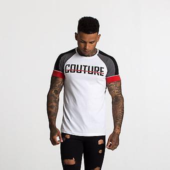 Tuore Couture retro valkoinen T-paita