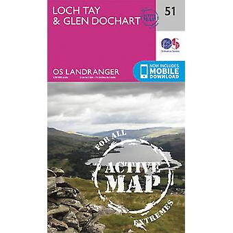 Loch Tay & Glen Dochart (February 2016 ed) by Ordnance Survey - 97803