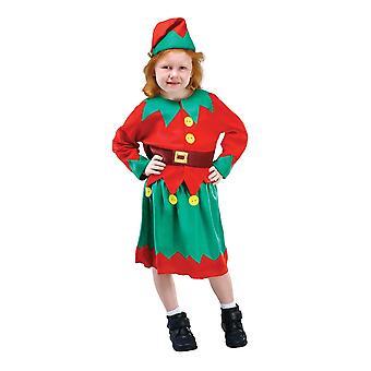 Bristol Novità Bambini/Ragazze Babbo Natale Costume Helper