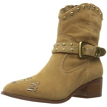 BCBGeneration Womens lokki Suede Pointed Toe Ankle Cowboy Boots