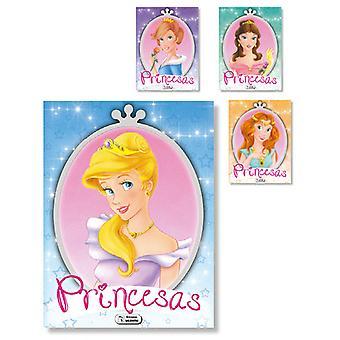 Ediciones Saldaña Coloring Book Princes 8Hj 21X27