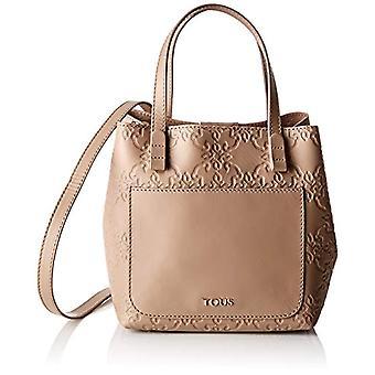Tous 795900256 Women's tote bag 20x19x17 cm (W x H x L) Beige Size: 20x19x17 cm (W x H x L)
