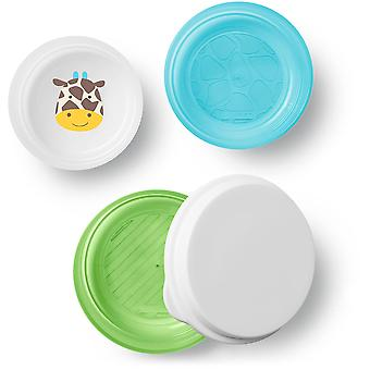 Skip Hop Zoo Smart Serve 3Pk Bowls