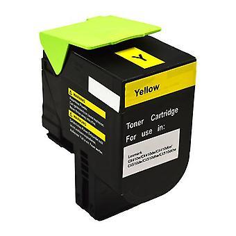 Lexmark 80C8Hy0 Cx410 Cx510 Yellow Premium Generic Toner