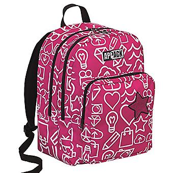 BIG round backpack -APPACK - Pink 30Lt