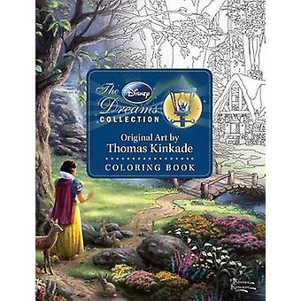Disney Dreams Collection Thomas Kinkade Studios Coloring Book by Thom