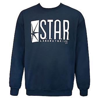 Star Laboratories Navy Crew neck paita
