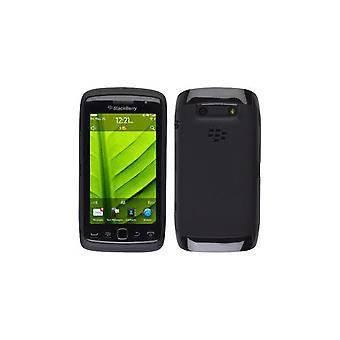 Sprint Protective Gel Case for BlackBerry Torch 9850 - Black