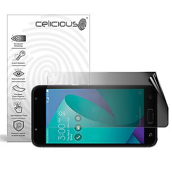 Celicious Privacy 2-Way Landscape Anti-Spy Filter Screen Protector Film Compatible with Asus ZenFone V Live