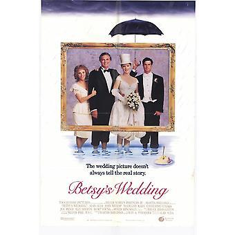 Betsy's Wedding Original Cinema Poster