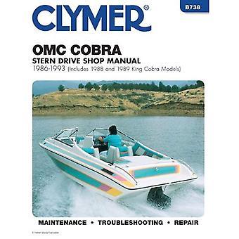 OMC Cobra Stern Drives, 1986-1993, Includes 1988-1989 King Cobra Models