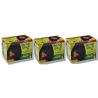 Organic Root Stimulator Relaxer Extra Strength / Super (3 Pack)