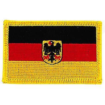 Aufnäher Ecusson Brode Flagge Deutschland Deutsch Adler Thermocollant Insignia