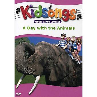 Kidsongs - Day with the Animals [DVD] USA import