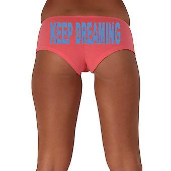 Frauen's Blue Keep Dreaming 1 Beute Shorts