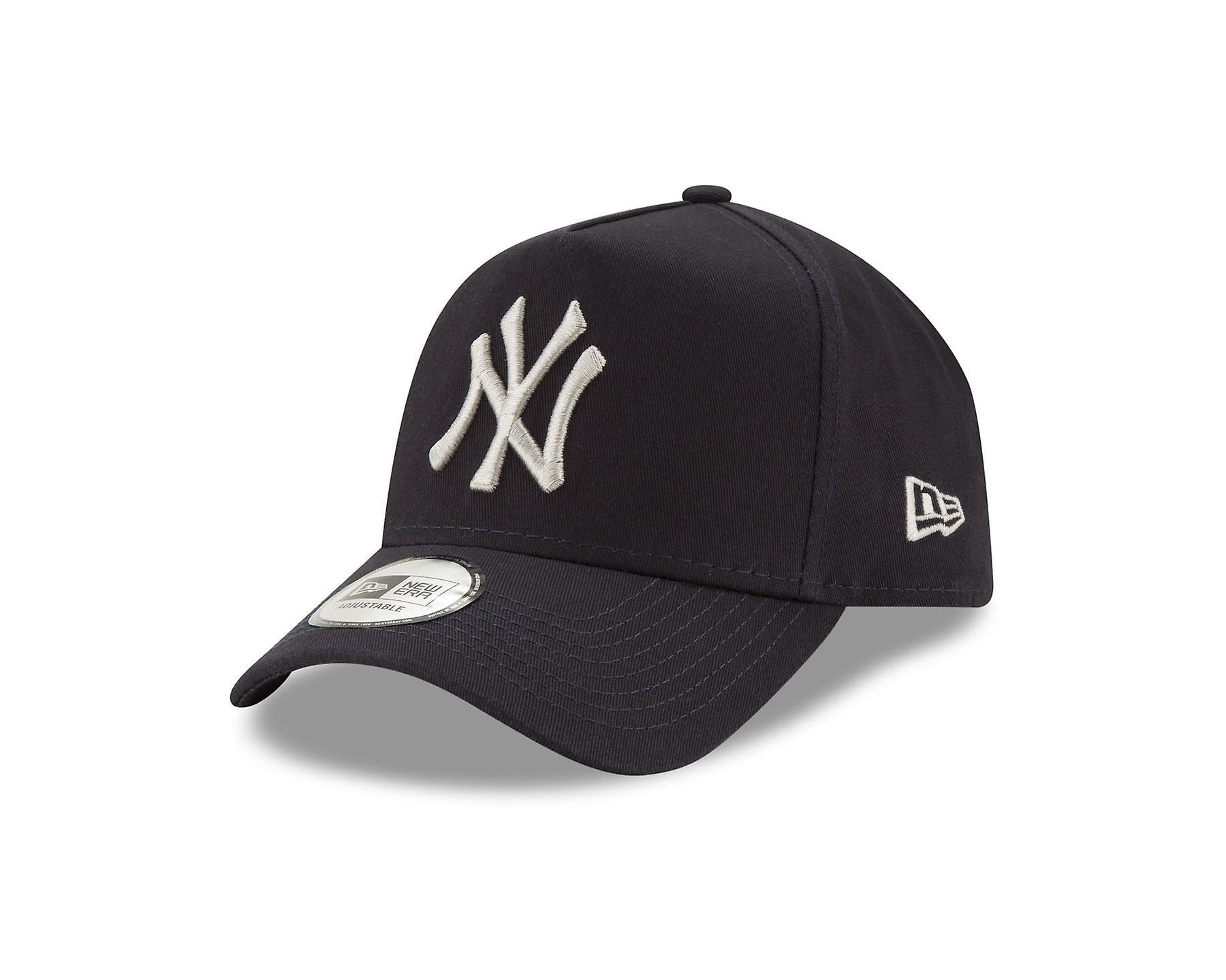 New Era League Adjustable A Frame Cap ~ New York Yankees navy