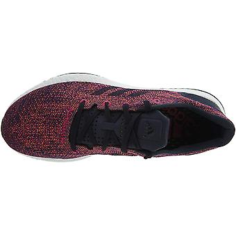 Adidas Mens Pureboost Fabric Low Top Lace Up Running Sneaker
