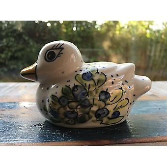 Duck unique, unique piece, antique, old Bunzlauer ceramic with glaze cracks possibly