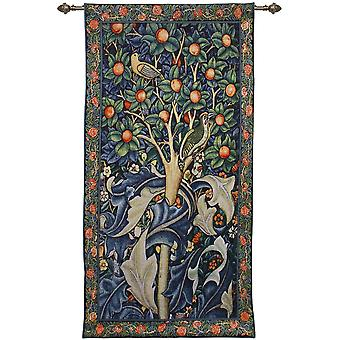 William Morris-Woodpecker vuonna Fruit Tree Wall roikkuu signare kuva kudos/69cm x 139cm/WH-WM-WP