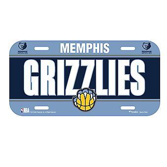 Fanatics NBA license plate - Memphis Grizzlies