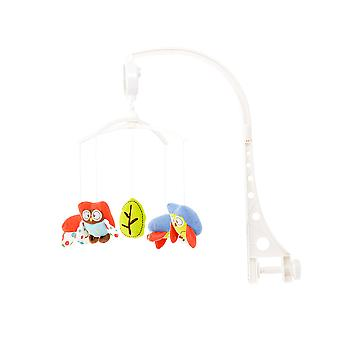 Chipolino Music Mobile Small Owls Cot, Running Stable, Music Turning Mechanism