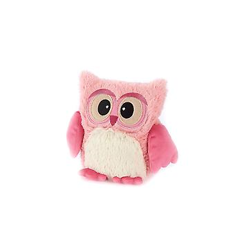 Warmies Hooty Owl Heatable Microwavable Plush Lavender Scented Soft Toy