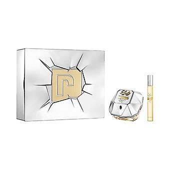 Femei's Parfum Set Lady Million Lucky Paco Rabanne (2 buc)