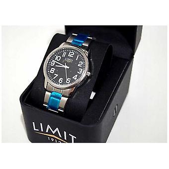 Limit | Herr | Svart urtavla | Rostfrittstål armband | 5648 titta på
