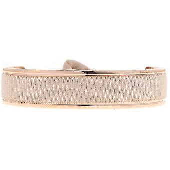 De verwisselbare armband A42775-Jonc lint verwisselbare 9mm beige vrouwen