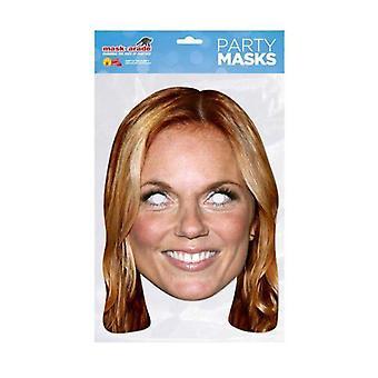 Geri Halliwell Celebrity Face Mask