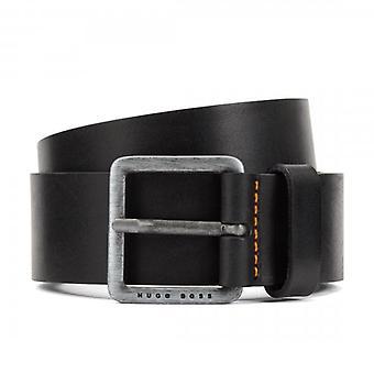 Hugo Boss Jeeko Black Leather Belt 50386229
