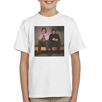 TV Times Mick Jagger And Keith Richards Of The Stones 1965 Kid's T-Shirt